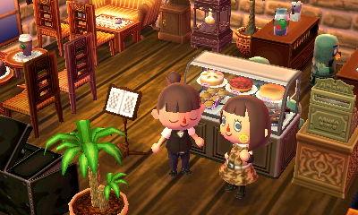 とび森博物館2階
