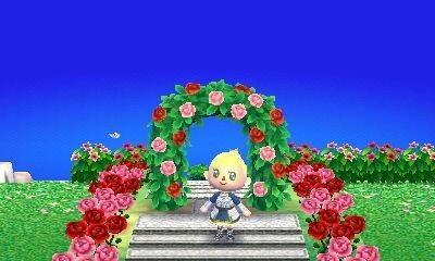 とび森 お花畑